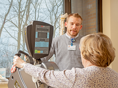 Cardiac rehab at Paul Oliver Memorial Hospital